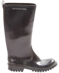Marc By Marc Jacobs \n Black Rubber Boots