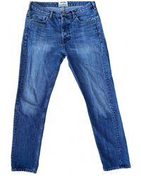 Acne Studios Gerade jeans - Blau
