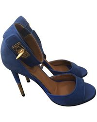 Givenchy Shark Sandals - Blue