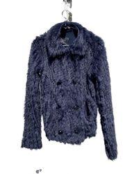 Marc By Marc Jacobs Rabbit Short Vest - Blue