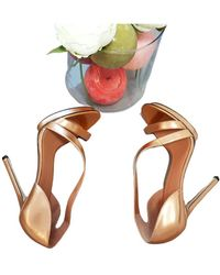 Brian Atwood Leather Sandals - Multicolor