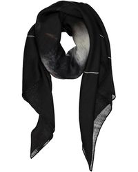 Givenchy - Black Wool Scarves - Lyst