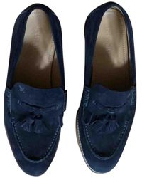 Louis Vuitton Mocassini in scamosciato marina - Blu
