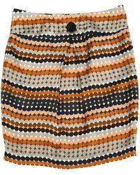 By Malene Birger Brown Silk Skirt