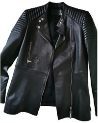Dior Black Leather Jacket