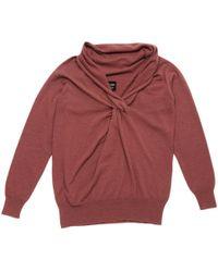 Lanvin - Pre-owned Brown Wool Knitwear - Lyst