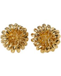Tiffany & Co. - Pre-owned Vintage Yellow Yellow Gold Earrings - Lyst
