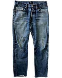 A.P.C. Gerade jeans - Blau