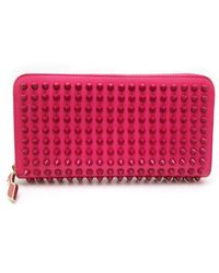 Christian Louboutin - Panettone Leather Wallet - Lyst