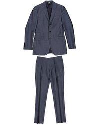 Burberry Wolle blouson - Blau