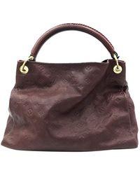 Louis Vuitton Artsy Leather Handbag - Multicolour