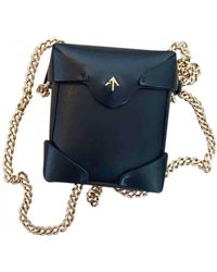 MANU Atelier Leather Crossbody Bag - Black