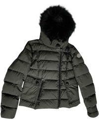 Moncler Plumífero Fur Hood - Multicolor