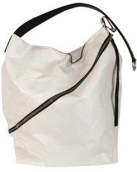 Proenza Schouler Zip Hobo Leder Handtaschen - Mehrfarbig