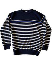 Loewe Blue Wool Knitwear & Sweatshirts