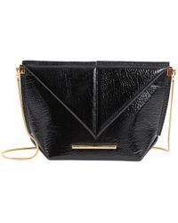 Roland Mouret - Patent Leather Handbag - Lyst