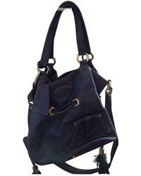Lancel 1er Flirt Leder Handtaschen - Blau