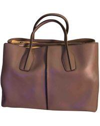 Tod's Leather Handbag - Brown