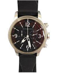 Burberry Orologio in acciaio nero