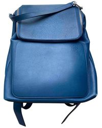 Loewe Goya Leder Taschen - Blau