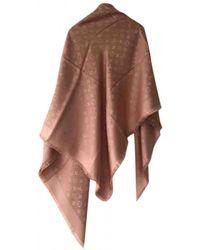 Louis Vuitton Châle Monogram Shine Silk Stole - Pink
