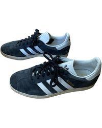 adidas Gazelle Niedrige turnschuhe - Blau