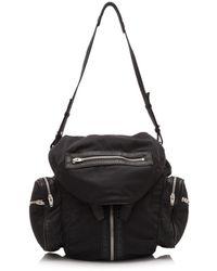 Alexander Wang Marti Black Synthetic Backpacks