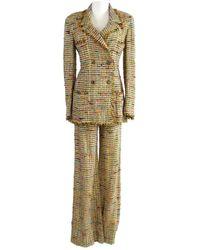Chanel Tweed Kostüm - Mehrfarbig