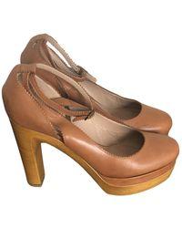 Chloé Leather Heels - Multicolour