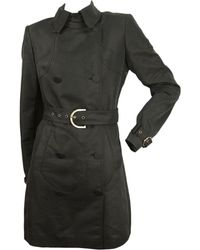 Stella McCartney - Anthracite Polyester Trench Coat - Lyst