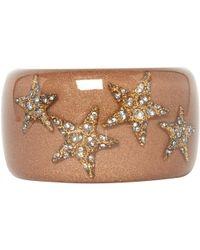 Roberto Cavalli - Pre-owned Brown Plastic Bracelet - Lyst