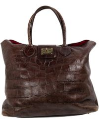 Roberto Cavalli - Leather Handbag - Lyst