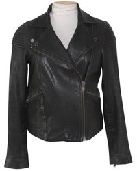 Marc By Marc Jacobs Leather Jacket - Black