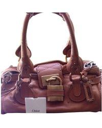 Chloé Paddington Leather Handbag - Multicolour