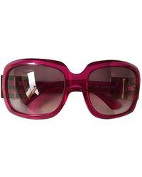 Roger Vivier Oversized Sunglasses - Pink