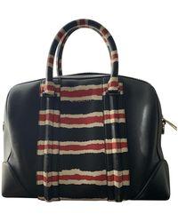 Givenchy Lucrezia Leder Handtaschen - Schwarz