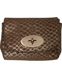 Lyst - Mulberry Mini Lily Shoulder Bag in Brown d629bee129042