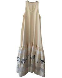 Nehera Linen Maxi Dress - Multicolour