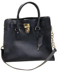 Michael Kors Leder Handtaschen - Blau