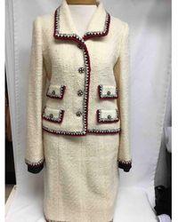 Chanel Giacche in tweed ecru - Neutro