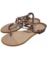 Emilio Pucci - Pre-owned Multicolour Cloth Sandals - Lyst