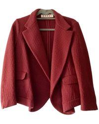 Marni Wool Jacket - Orange