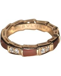 BVLGARI Serpenti Viper Other Pink Gold Rings - Multicolor