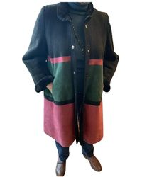 Dior Vintage Multicolour Shearling Coats