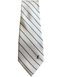 Louis Vuitton Seide Krawatten - Weiß