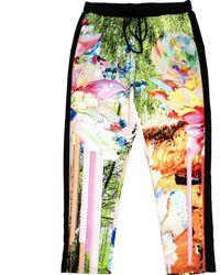Clover Canyon Pantaloni in poliestere multicolore