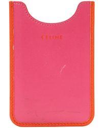 Céline - Leather Phone Charm - Lyst