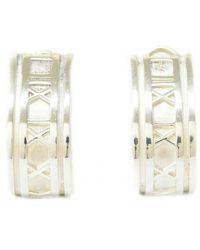 Tiffany & Co. Silver Earrings - Multicolor