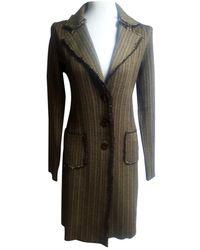 Marni Abrigo en lana marrón