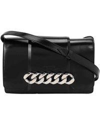 Givenchy Infinity Black Leather Handbag